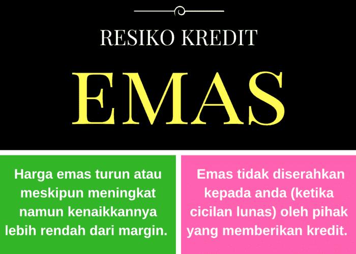 Resiko Kredit Emas