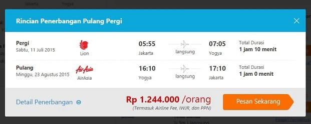 pesan tiket pesawat online murah traveloka