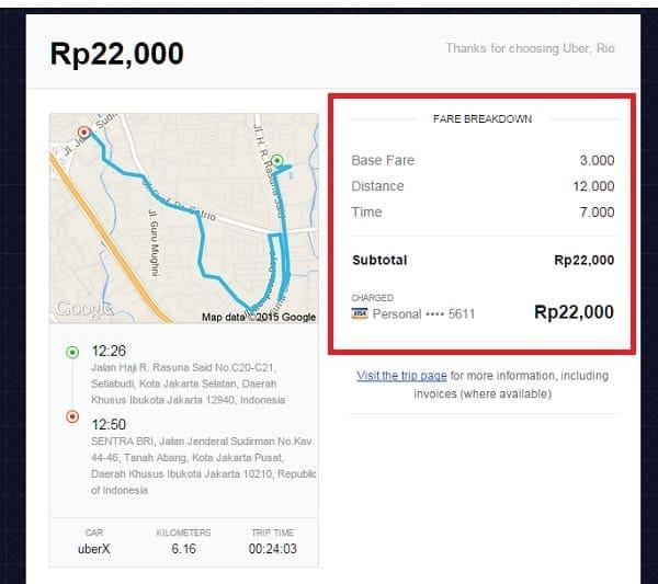 5 alasan naik taksi uber jakarta menguntungkan. Black Bedroom Furniture Sets. Home Design Ideas