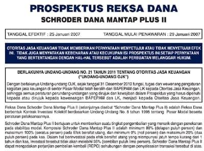 Prospektus Reksadana Pendapatan Tetap