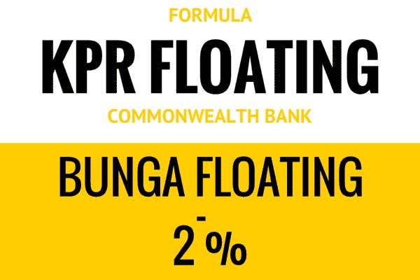 Formula Suku Bunga KPR Floating Bank Commonwealth
