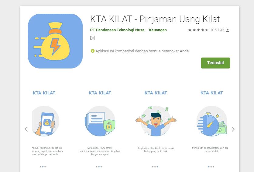 KTA Kilat Pinjaman Online