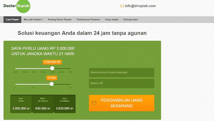 Pinjaman uang Fintech Drrupiah