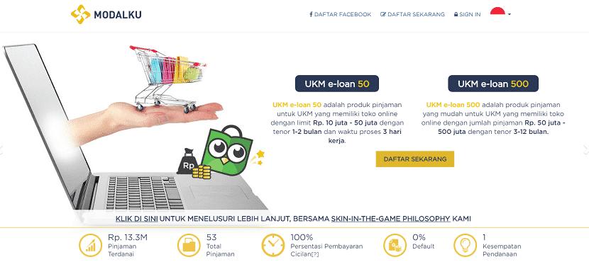 pinjaman cepat fintech modalku pinjaman online