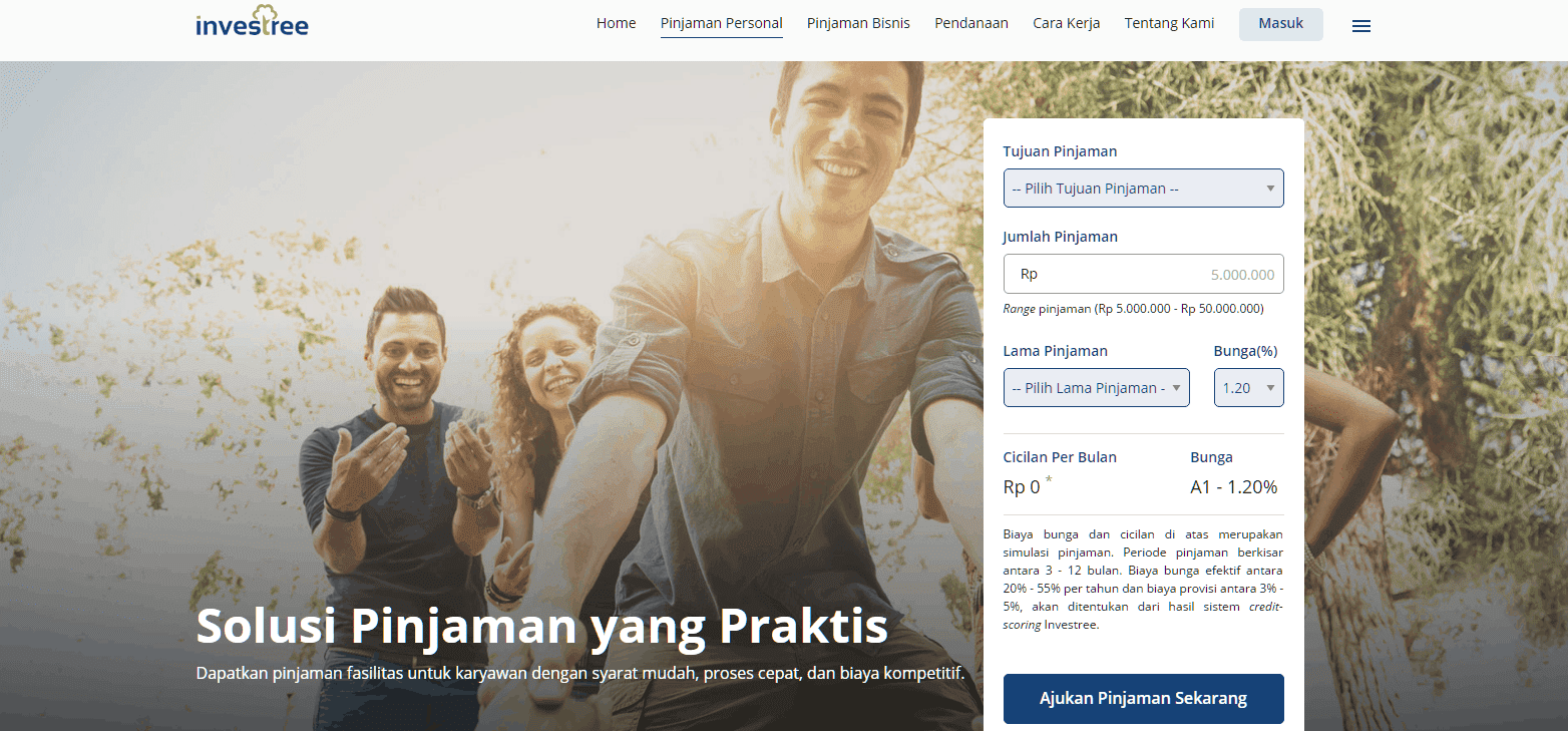 Investree P2P Pinjaman 2018