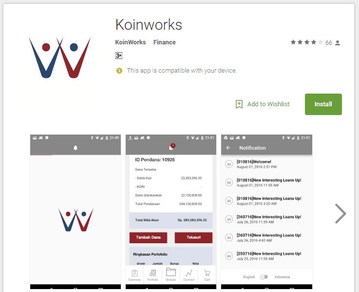 Koinworks Pinjaman Online