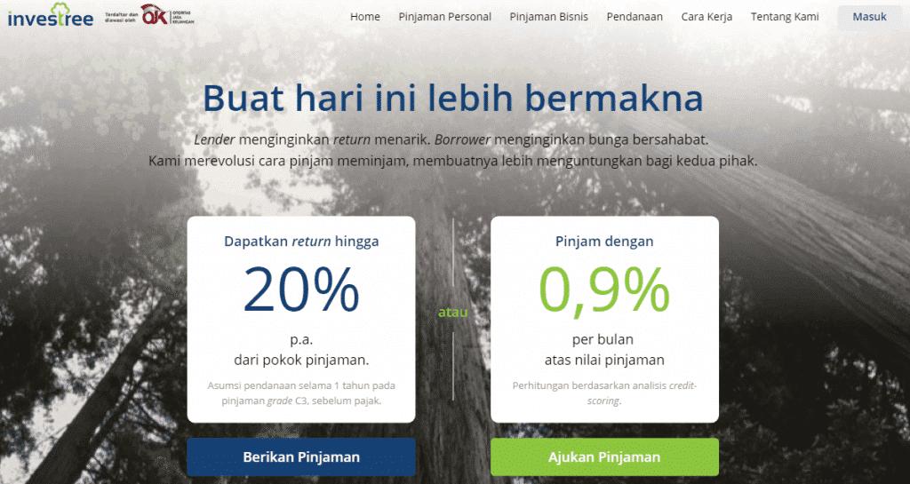 P2P Lending Investree