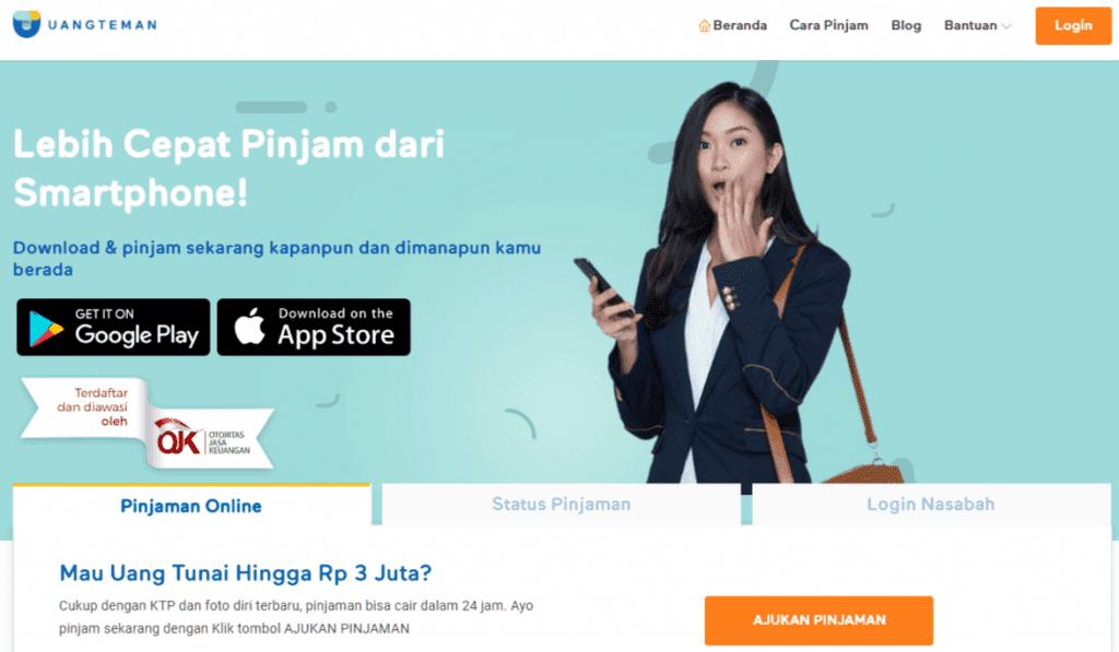UangTeman Pinjaman Online