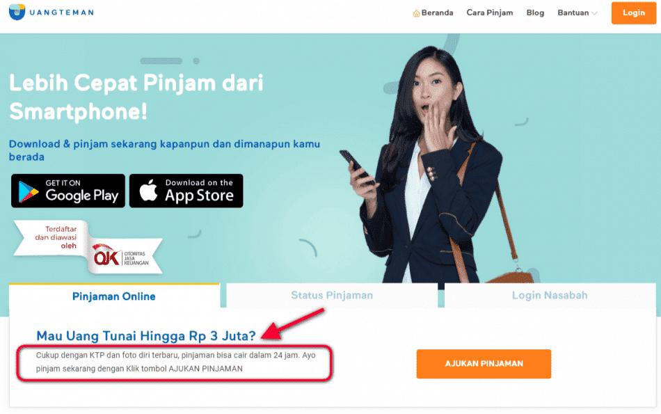 Pinjaman KTA Online Tanpa Kartu Kredit
