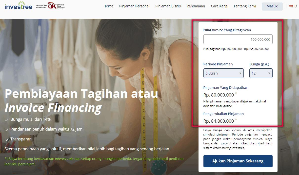 Investree Pinjaman Modal Usaha Tanpa Jaminan Online
