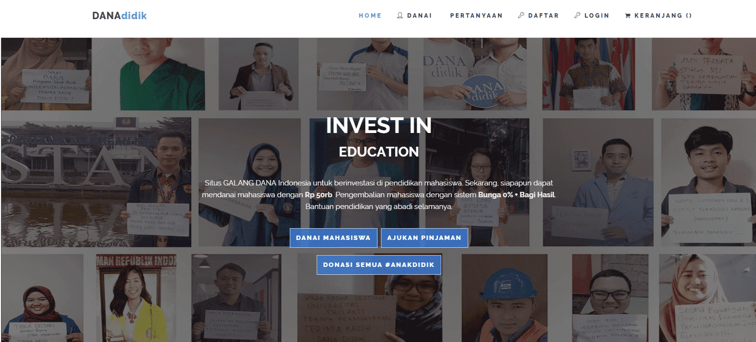Pinjaman Dana Pendidikan Tanpa Jaminan
