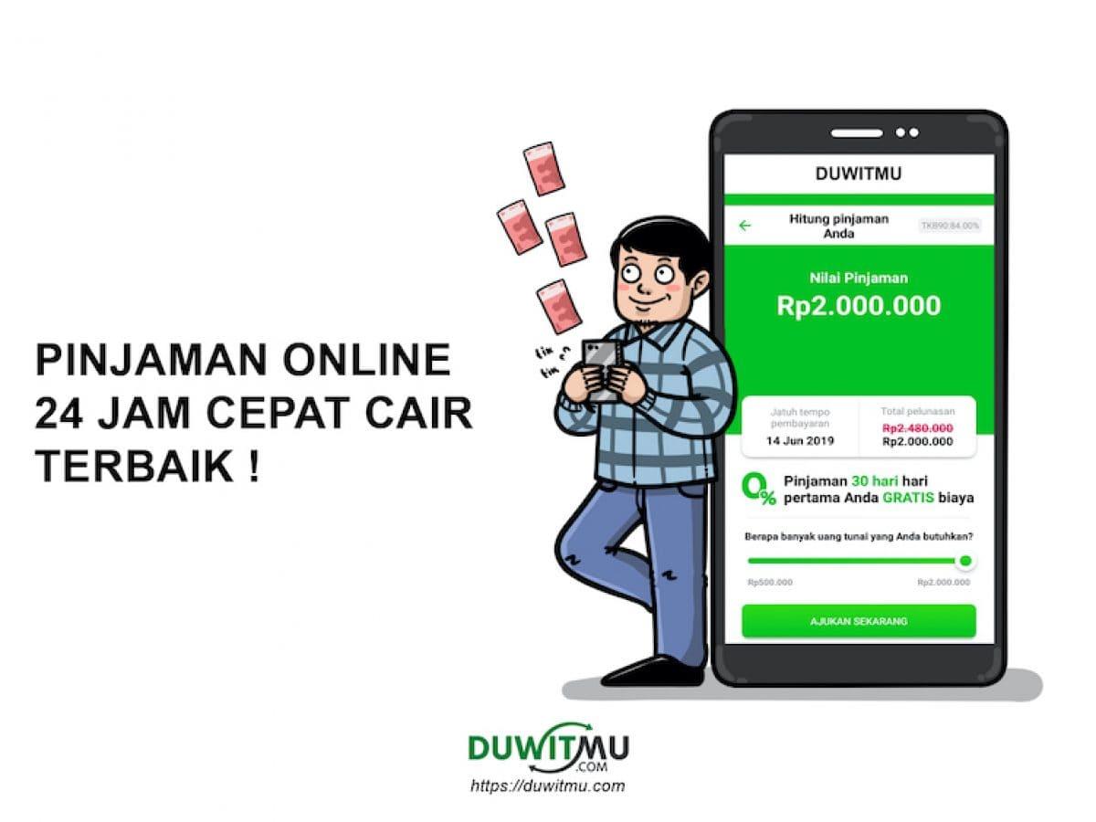24 Pinjaman Online 24 Jam Cepat Cair Dan Terpercaya 2020 Update Duwitmu