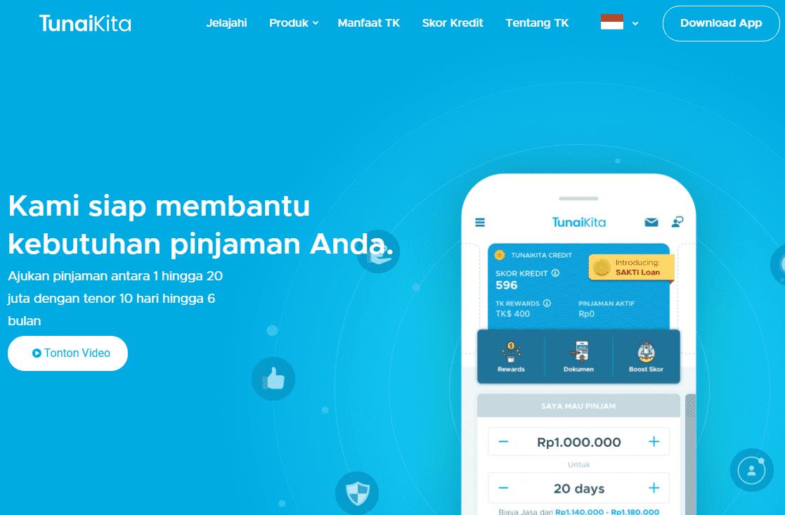 Pinjaman Online 24 Jam TunaiKita