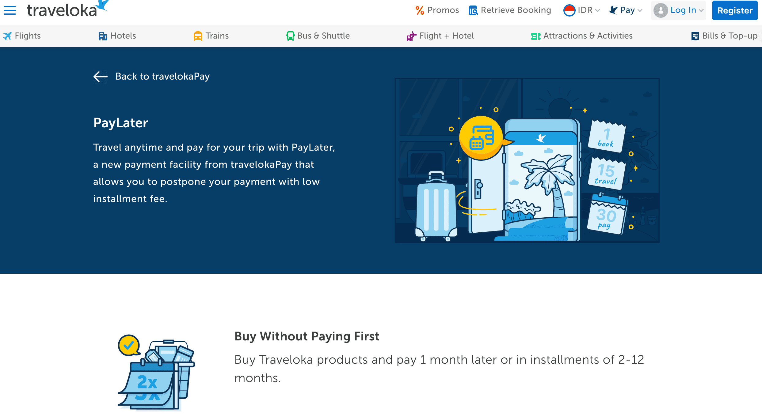 PayLater TravelokaPay