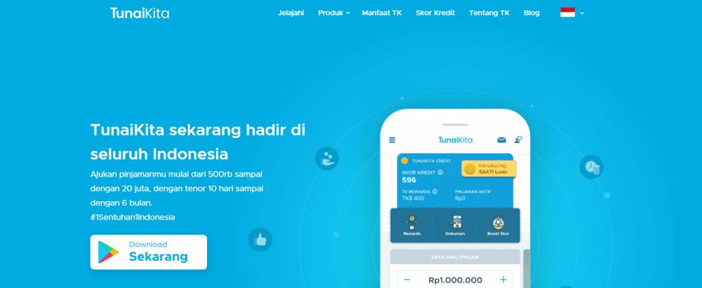 Pinjaman Online Cicilan TunaiKita
