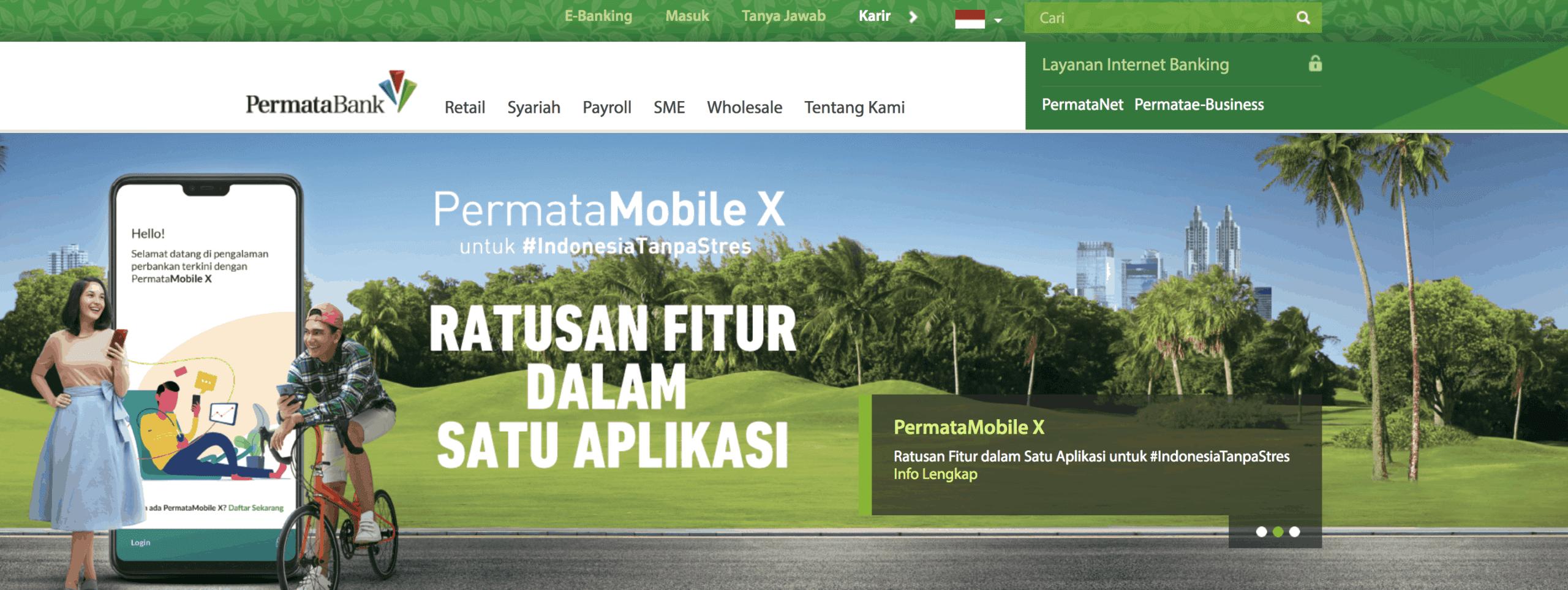 Internet Banking Permata aplikasi mobile banking