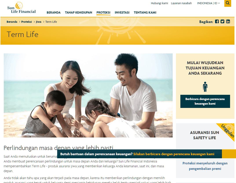 Asuransi Jiwa Murni Sunlife