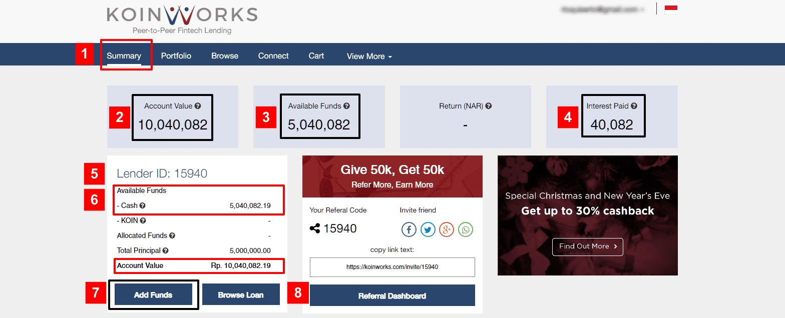 KoinWorks Review Investasi