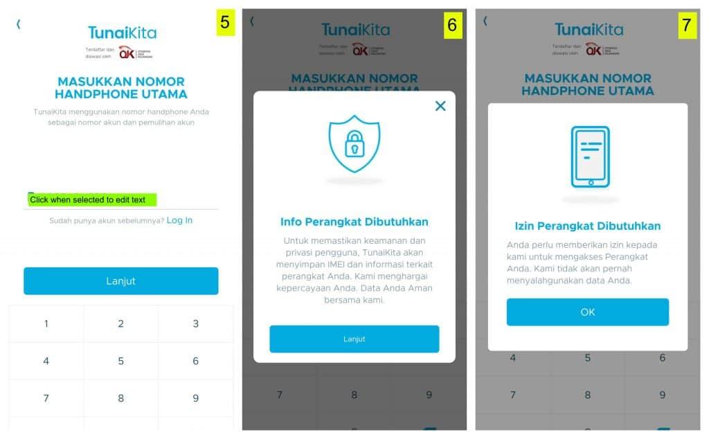 Pinjaman Uang Online TunaiKita. Login TunaiKita.