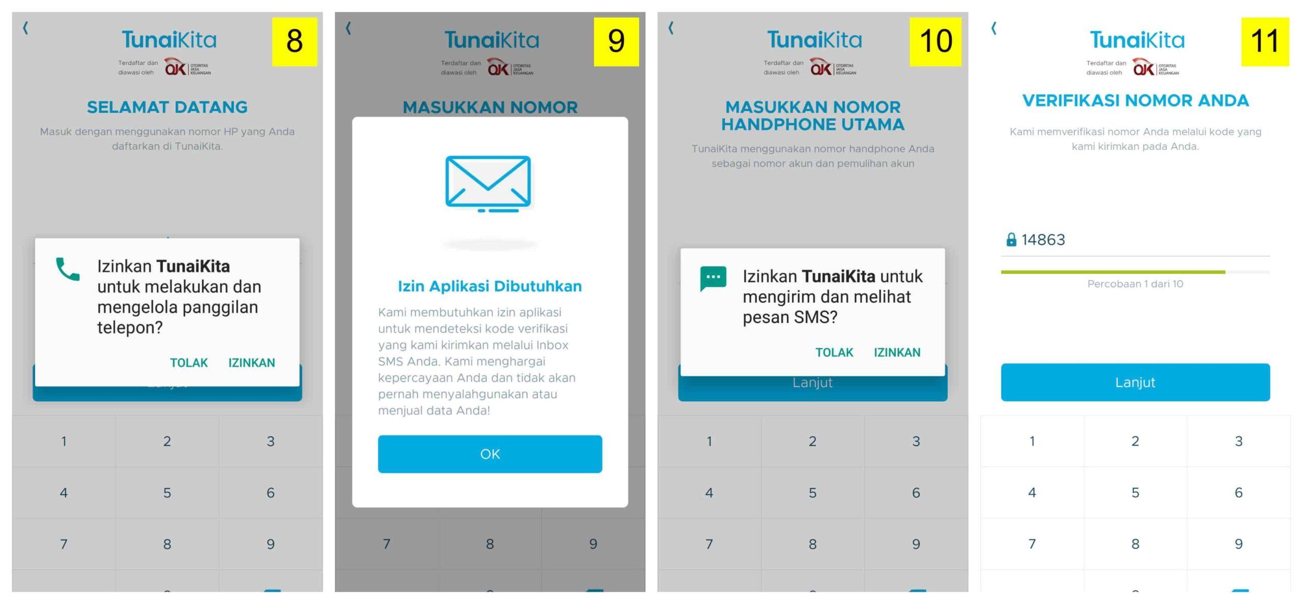 Aplikasi Pinjaman Online Uang TunaiKita