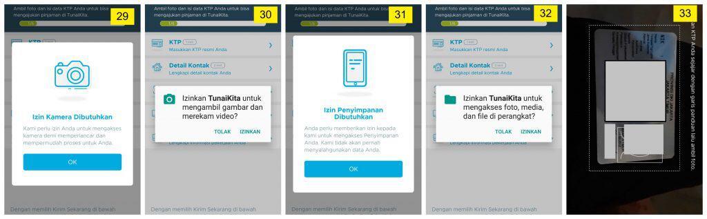 Akses Foto, Media di Perangkat Ponsel Pinjaman TunaiKita