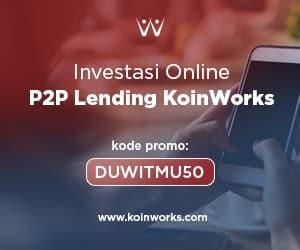 Koinworks Investasi P2P Return Tinggi