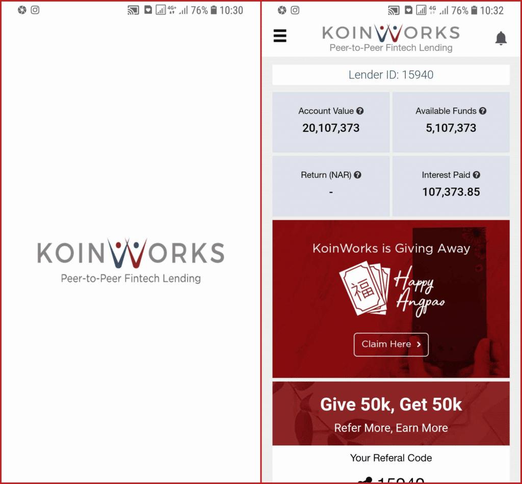 Koinworks Aplikasi Investasi P2P 2019