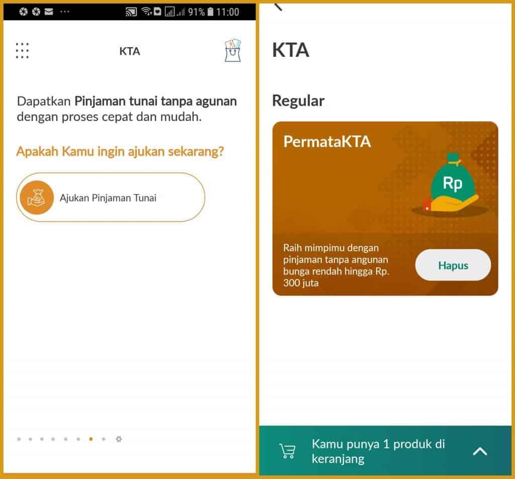 KTA Online Permata Bank