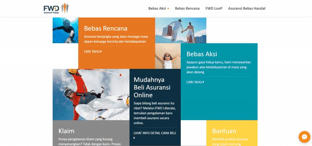 Asuransi FWD Online Digital