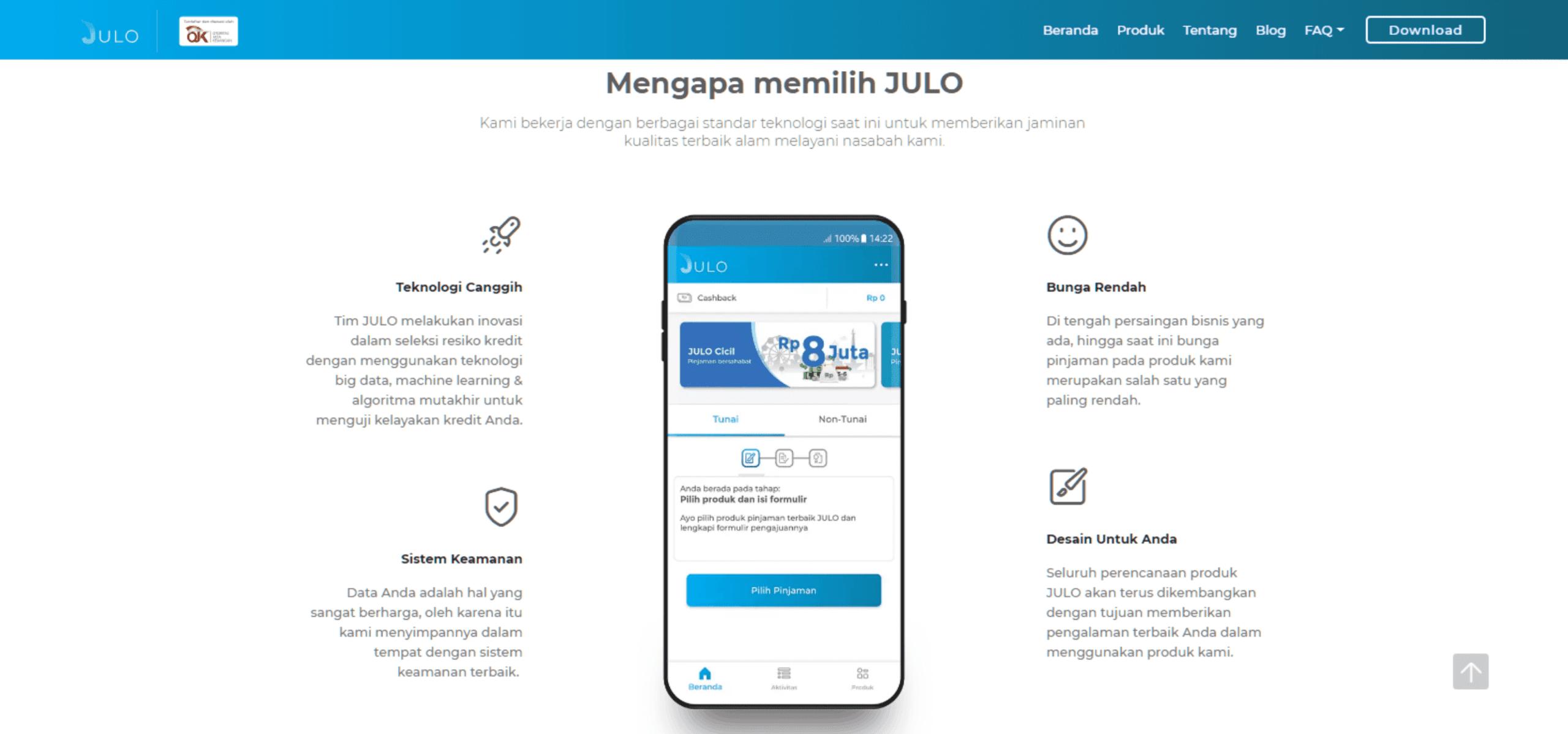 Julo Pinjaman Uang Online