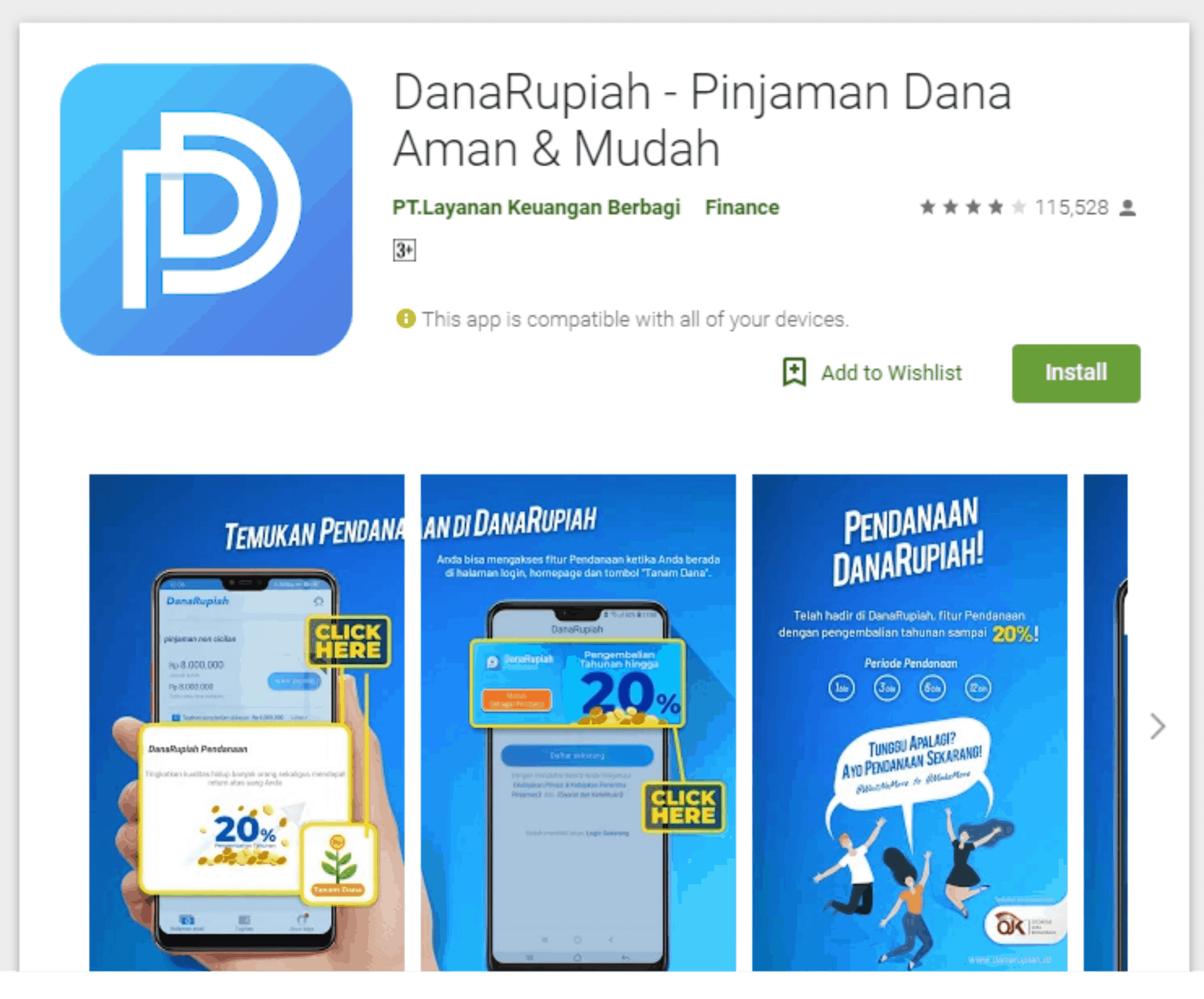 DanaRupiah aplikasi pinjaman cepat cair dalam hitungan menit