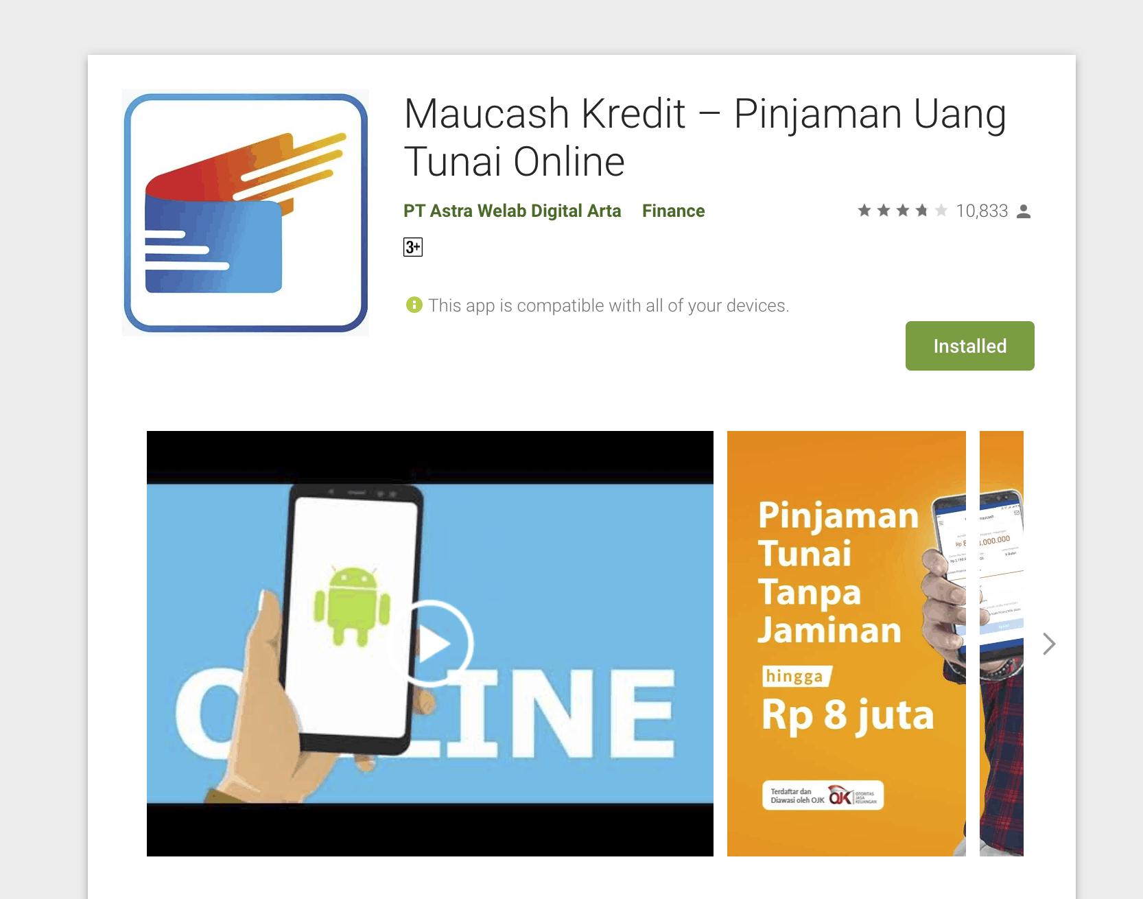 aplikasi pinjaman cepat cair dalam hitungan menit