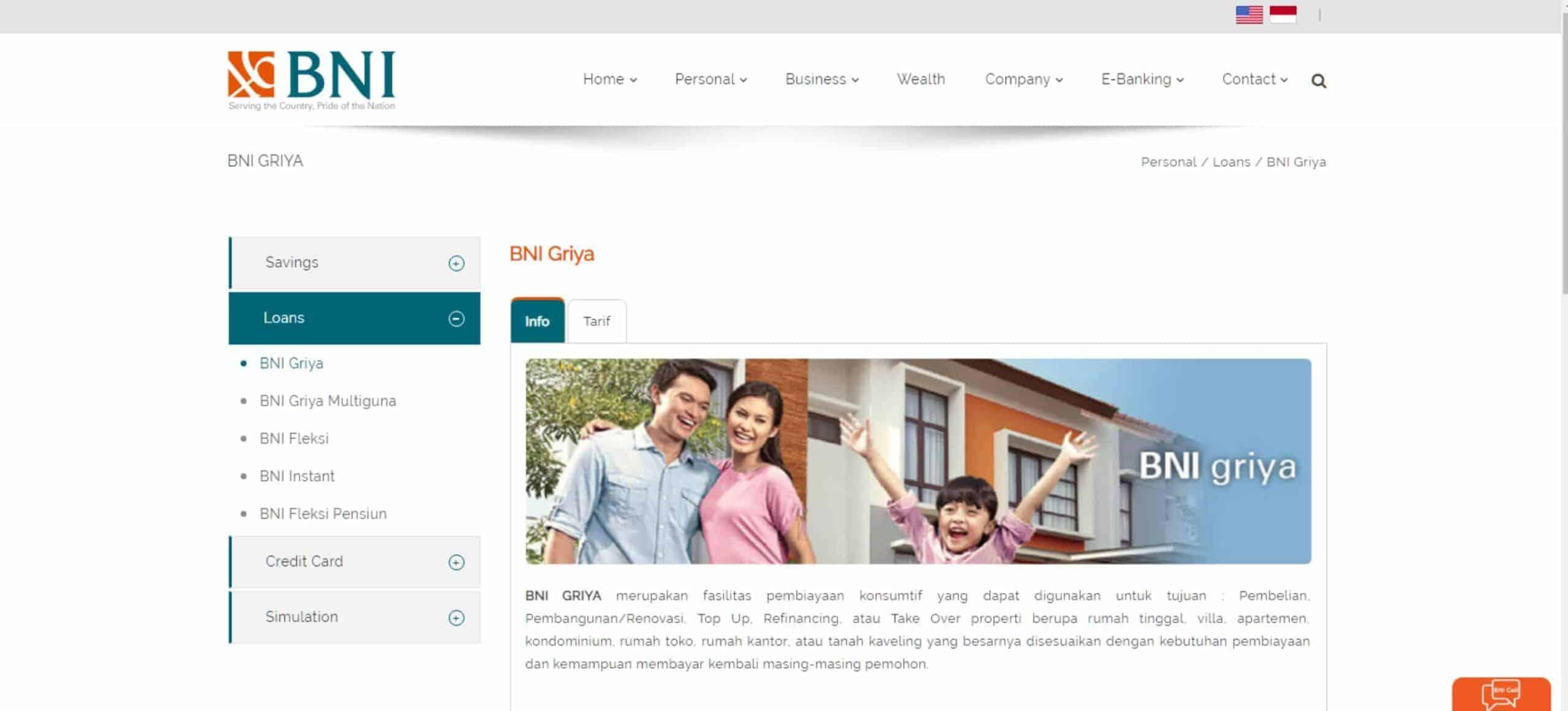 KPR Refinancing BNI
