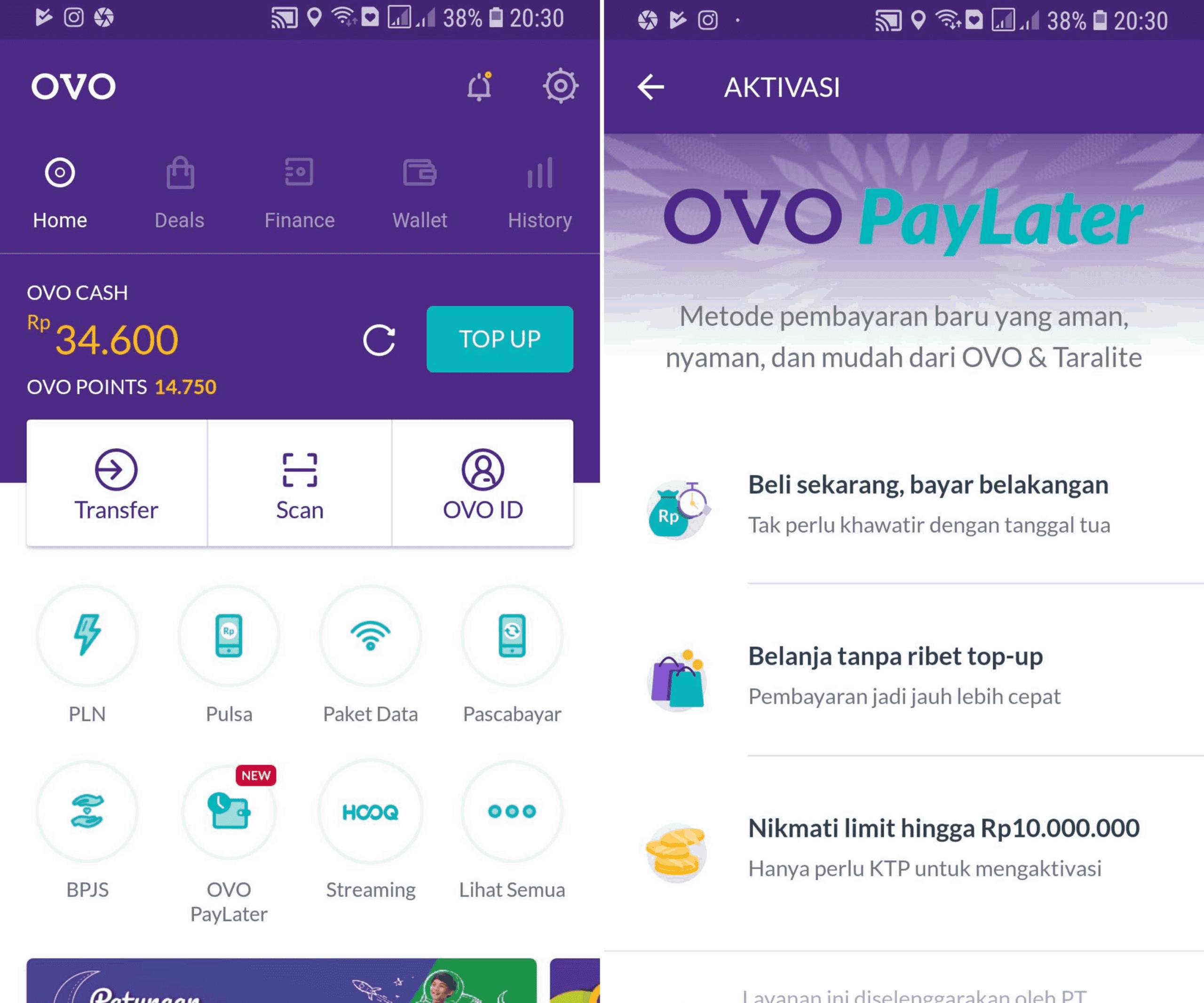 Daftar OVO PayLater