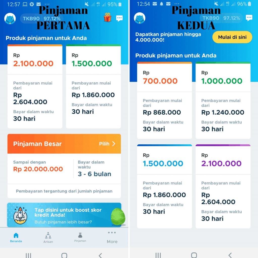 Update 2019 TunaiKita Pinjaman Online. Cicilan Tunai Kita.