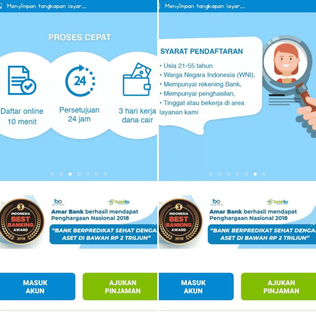 Tunaiku Pinjaman Online Tanpa Jaminan 2020 Bunga Tips Disetujui