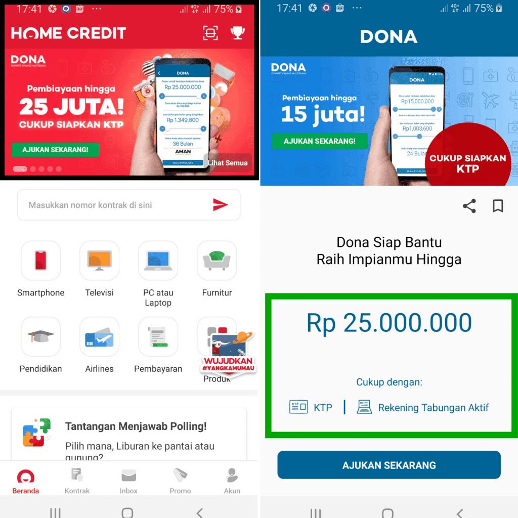 Pinjaman Multiguna Home Credit