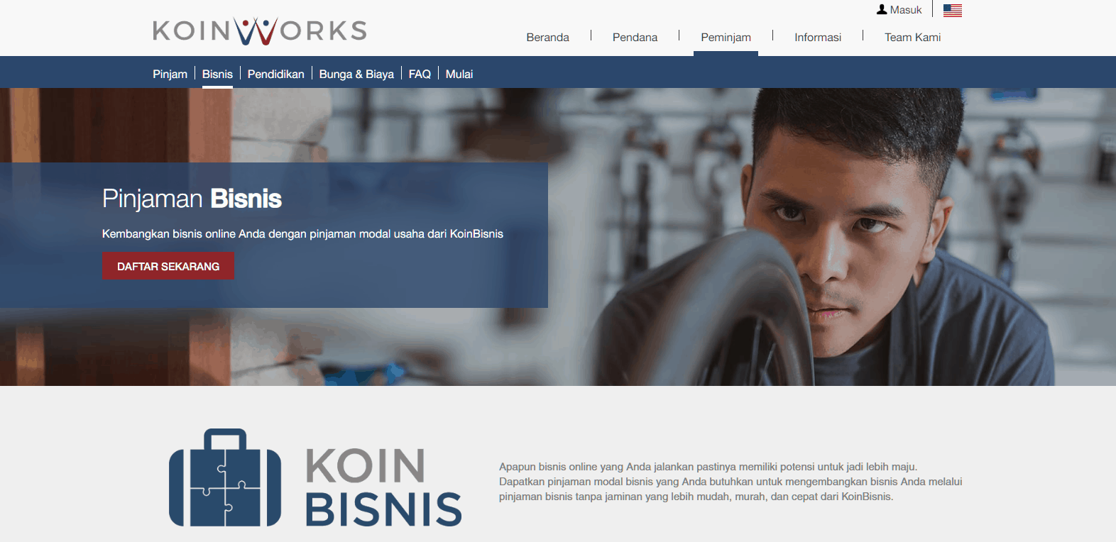 Koinworks pinjaman modal usaha secara online