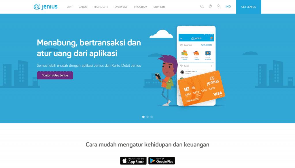 Jenius BTPN Aplikasi Mobile Banking