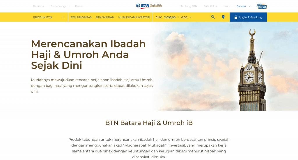Tabungan Haji BTN Syariah