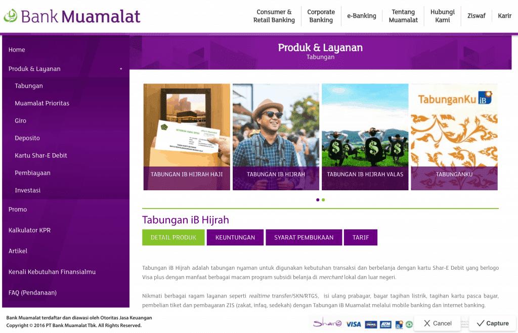 Tabungan Haji iB Hijrah Bank Muamalat