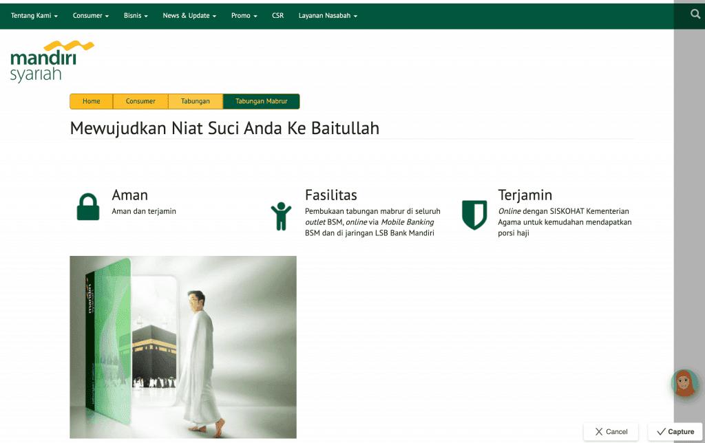 Bank Syariah Mandiri Tabungan Haji