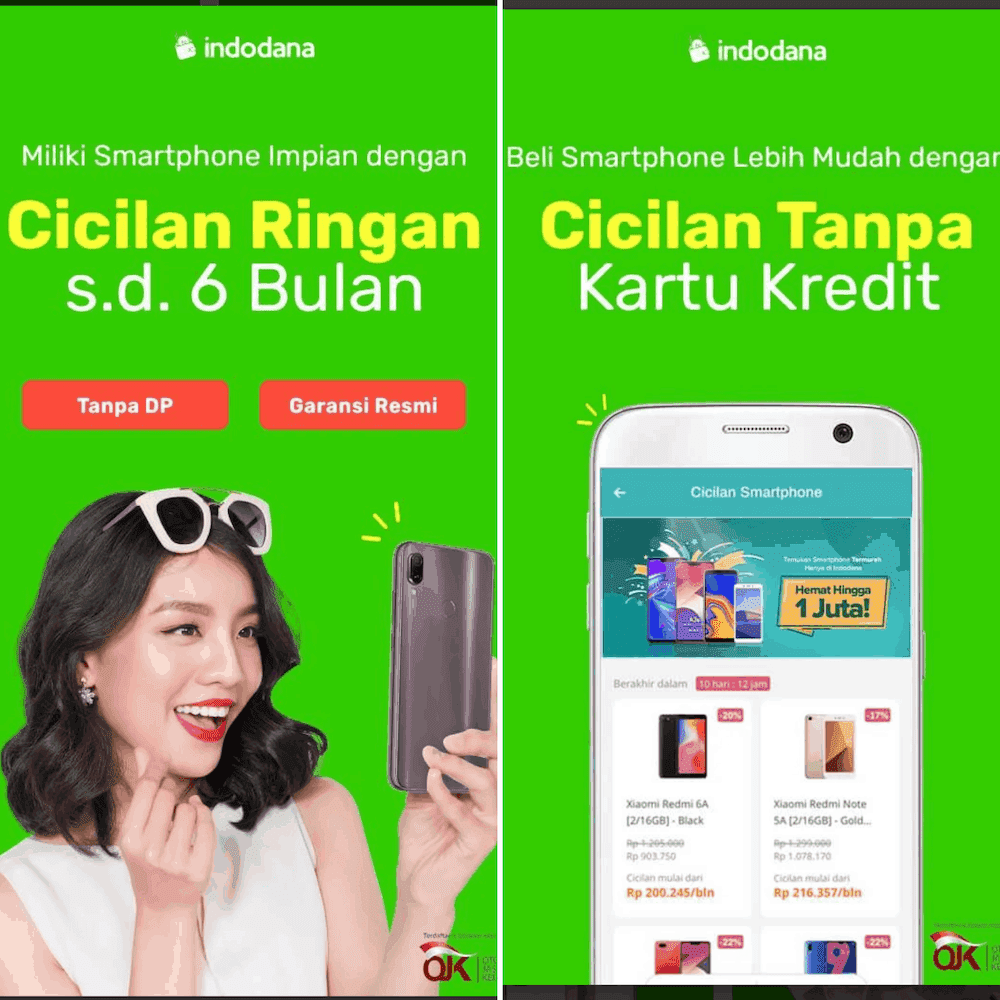 Kredit HP Online Indodana