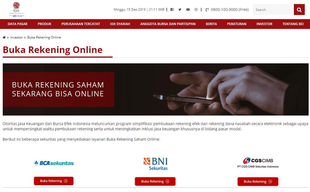 Daftar Perusahaan Investasi Online Murah dan Terpercaya
