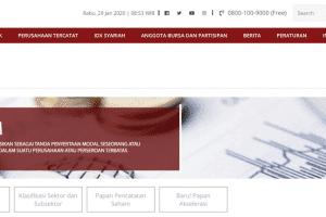 Saham Bursa Efek Indonesia