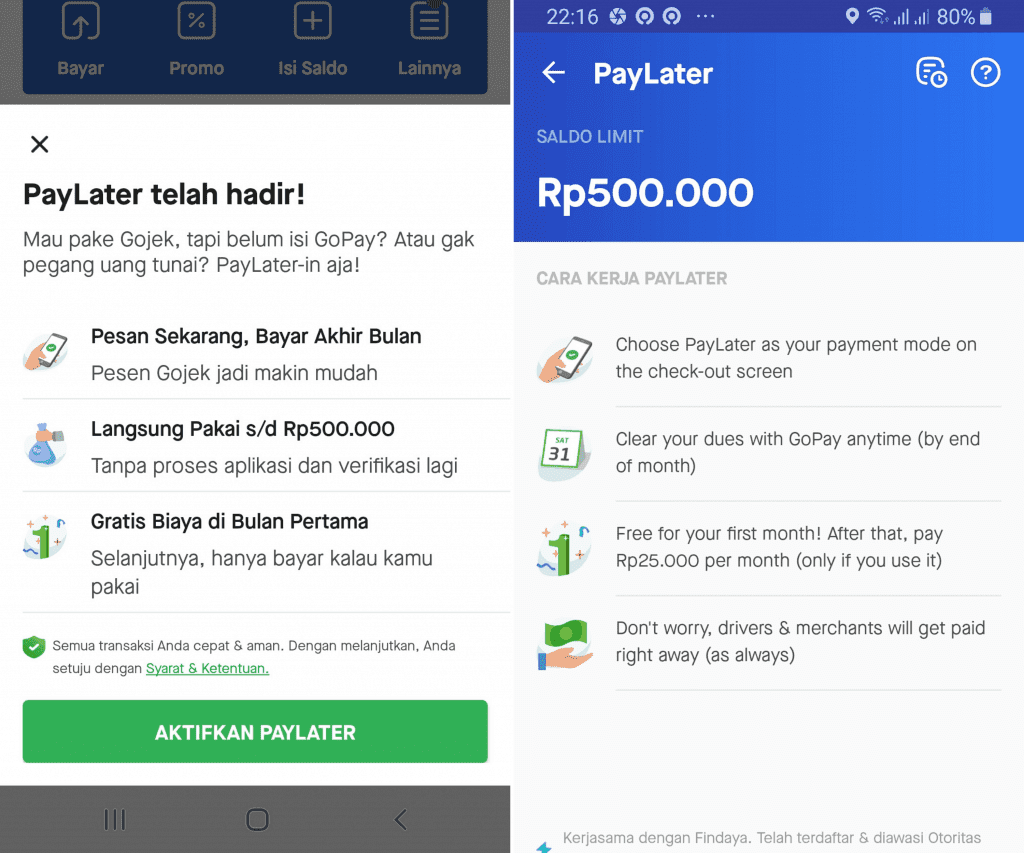 Gojek PayLater