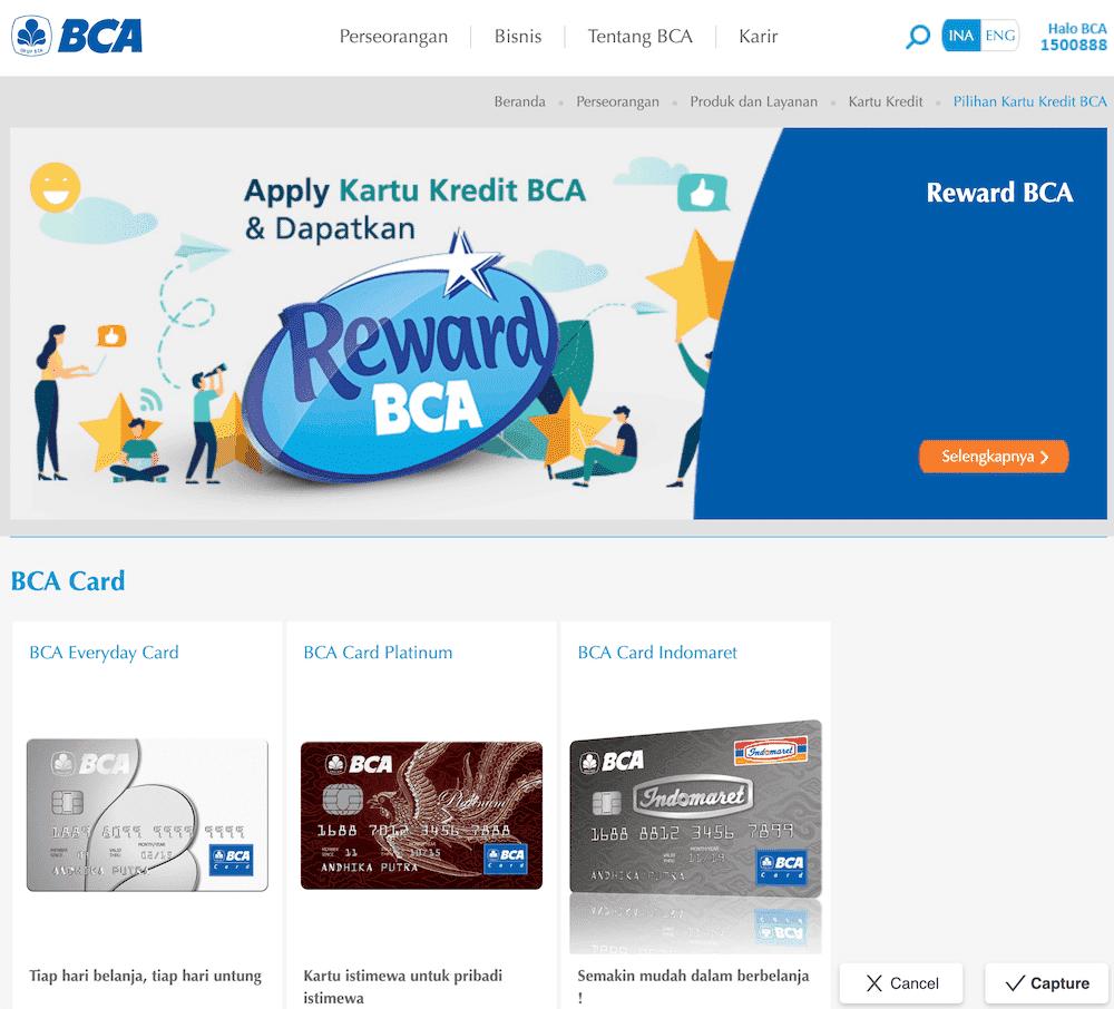 BCA Kartu Kredit