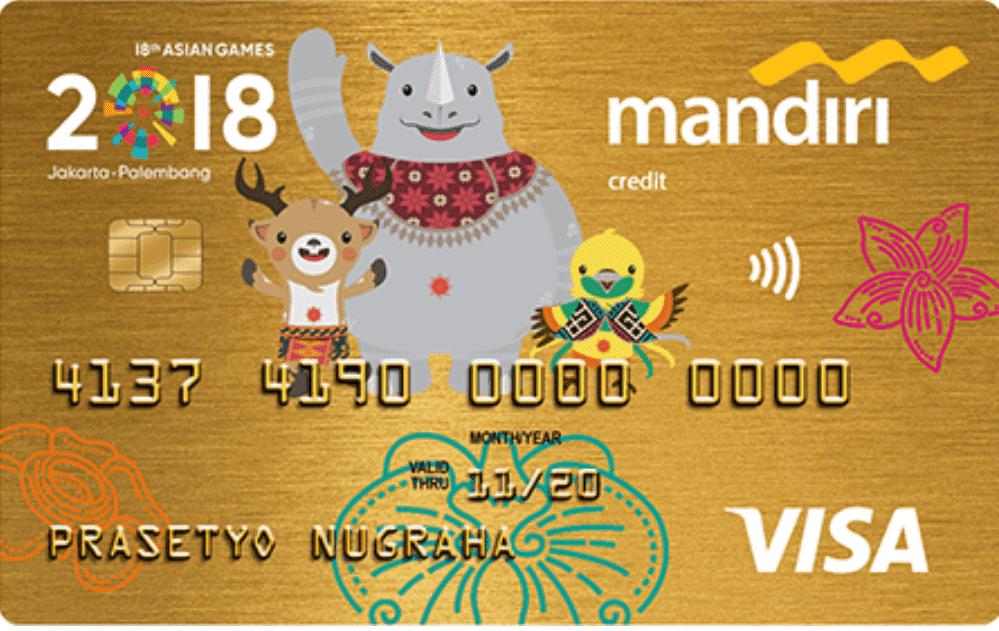 Bank Mandiri Visa Gold