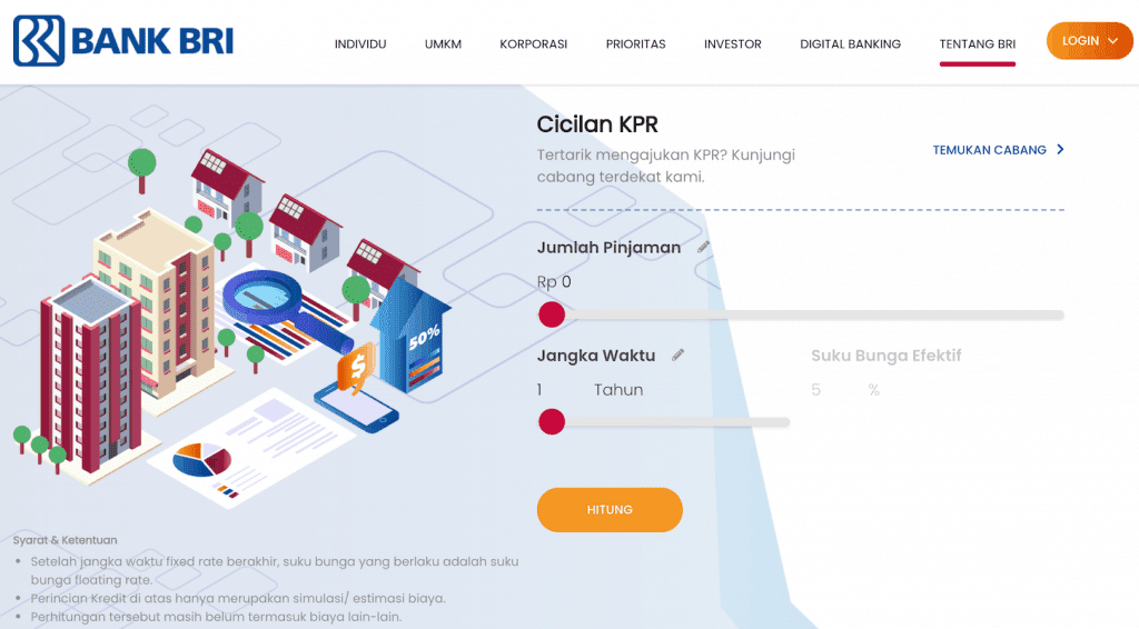 10 Simulasi Kpr Bank Pinjaman Rumah Mana Paling Kecil Cicilannya Pinjaman Online Investasi Keuangan Asuransi Duwitmu
