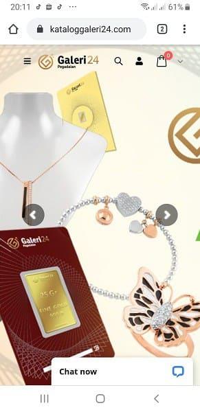 aplikasi emas online